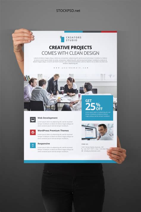 Stockpsd.net ? Free PSD Flyers, Brochures and more
