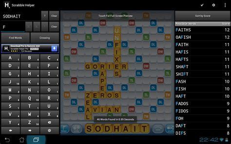 scrabble helper free scrabble helper appstore for android