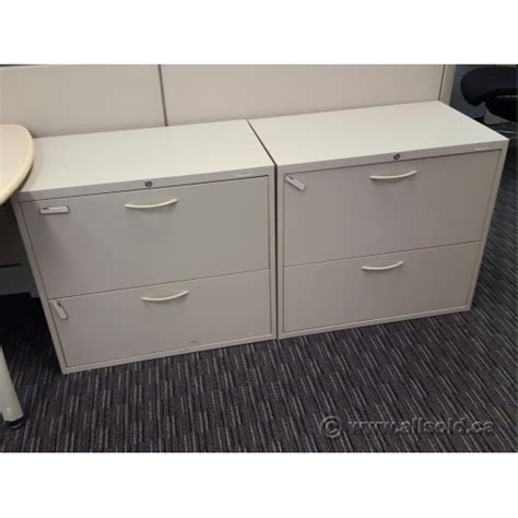2 Drawer Lateral File Cabinet With Lock Teknion 30 Quot 2 Drawer Lateral File Cabinet Locking Allsold Ca Buy Sell Used Office