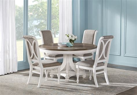 french market white  pc  dining room traditional