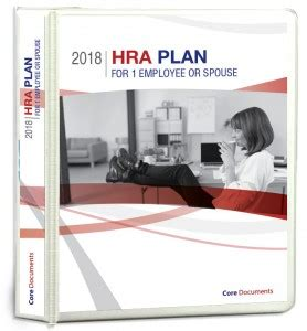 section 105 plan document section 105 one person hra from 149 one time fee core