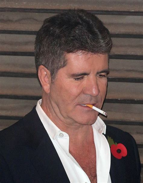 simon s simon cowell pays 163 100 every time he lights up at x factor