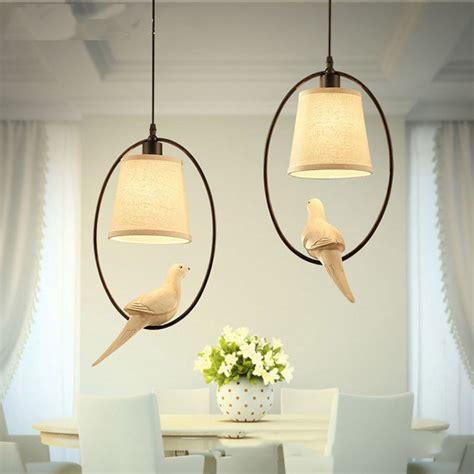 Bird Pendant Light Mediterranean Single Bird Pendant Light Dining Room L Study Bar Suspension Luminaire In