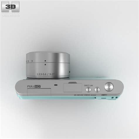 Samsung Smart Nx Mini samsung nx mini smart mint green 3d model hum3d