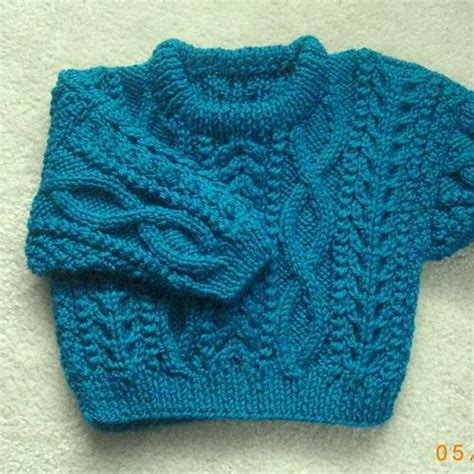 toddler knit sweater dress pattern daithi aran sweater for baby and toddler by christina d