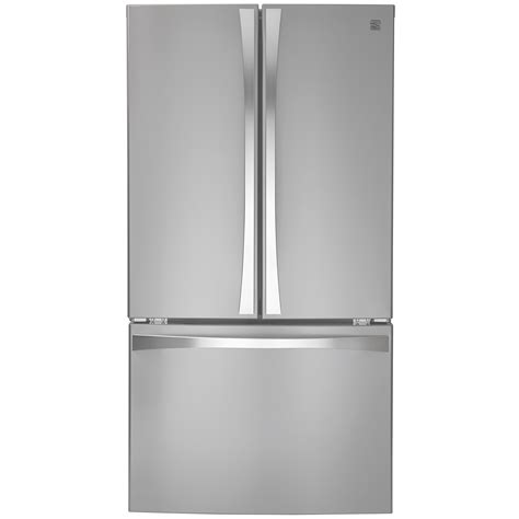 Kenmore Door Bottom Freezer by Kenmore Elite 74015 30 6 Cu Ft Door Bottom