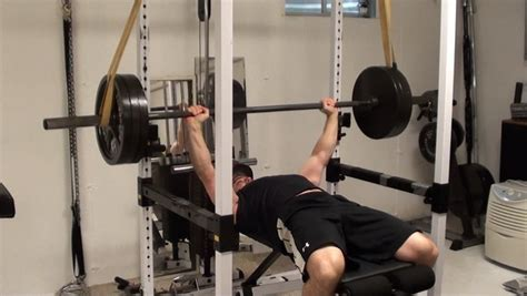 benching with bands power start lactic acid training reverse band bench press