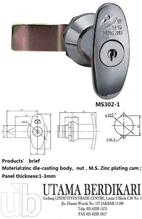 Kunci L Merk Crv kunci panel
