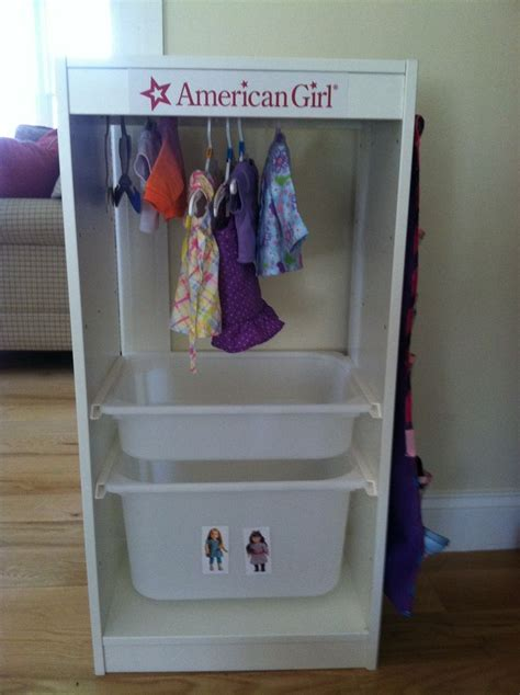 American Doll Wardrobe Closet by 25 Unique American Storage Ideas On Diy