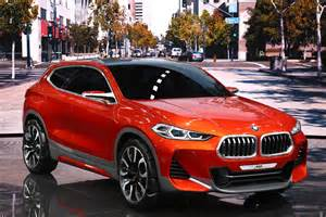 bmw x2 concept debuts at 2016 auto show