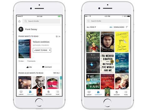 amazon kindle app amazon s kindle app gets design overhaul new goodreads