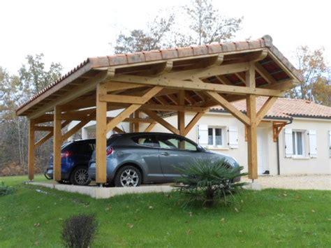abri voiture bois idees diy accueil design et mobilier