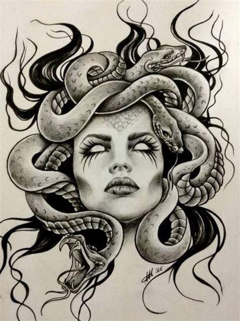 sexy medusa tattoo best 25 medusa ideas on
