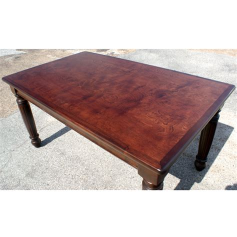 5ft dining burl cherry wood dining table desk ebay