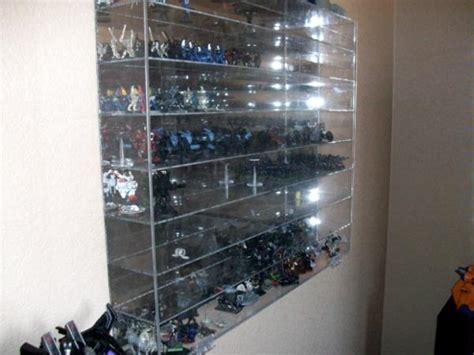 action figure display case home decor nerd den