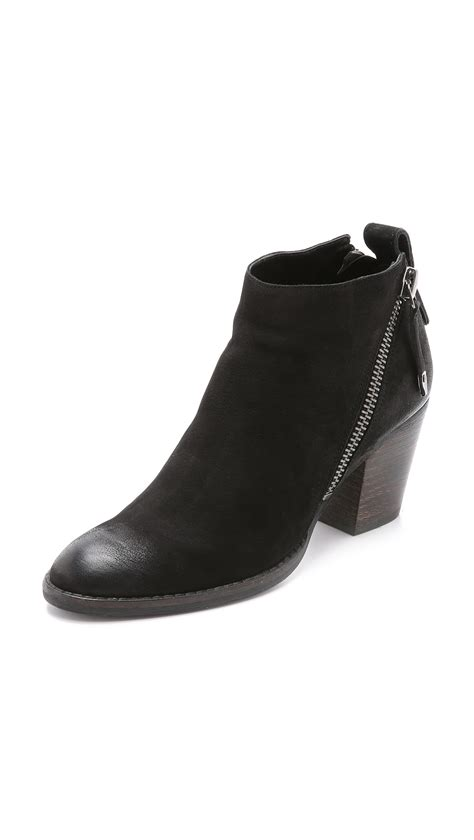 For Dolce Vita by Lyst Dolce Vita Jaeger Booties Black In Black