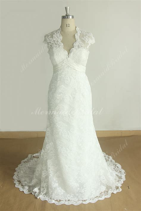 Wedding Dress Etsy by Lace Keyhole Back Wedding Dress Etsy Discount Wedding