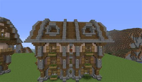 minecraft country house large country house minecraft build tutorial bc gb