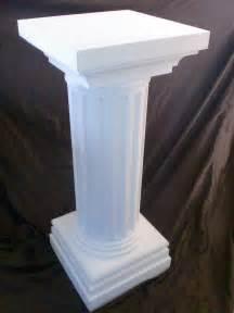 columns pillars foam cutting cut polystyrene