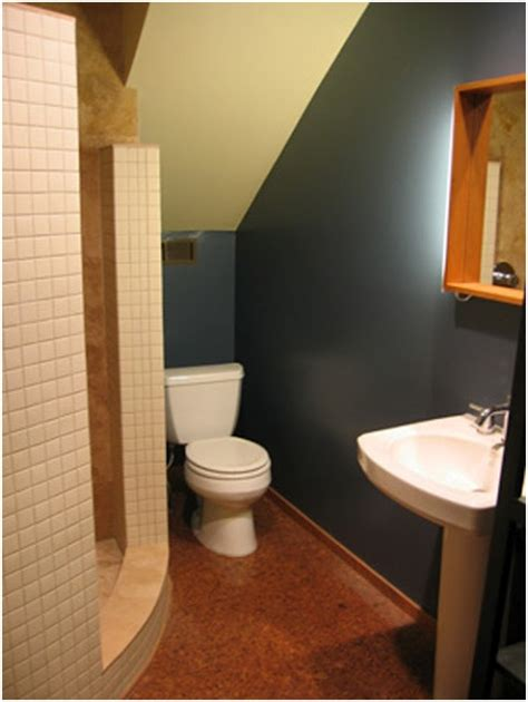 bathroom under the stairs bathrooms design