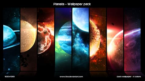 computer wallpaper pack planets wallpaper pack by t1na on deviantart