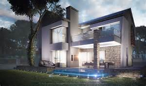 Designer House With Interactive 3d 3d Videography And