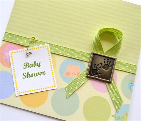 Handmade Baby Shower Ideas - baby shower handmade card ideas let s celebrate