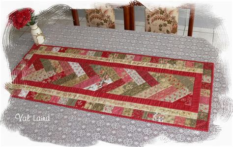Free Patchwork Table Runner Patterns - val laird designs journey of a stitcher free pattern