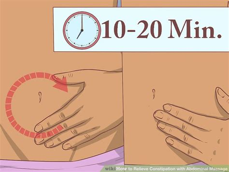 How To Relieve Stool by How To Relieve Constipation With Abdominal 15 Steps