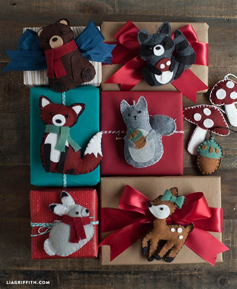 christmas decorations pattern felt ornaments by bigdreamsupply felt christmas bear ornament lia griffith
