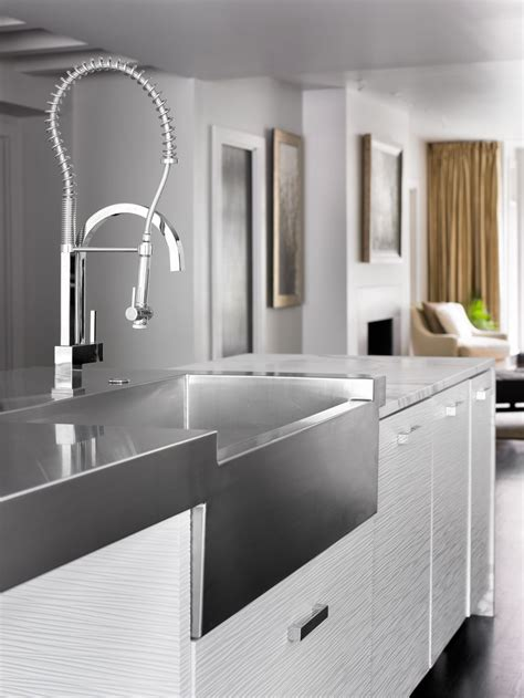 all metal kitchen faucets invite the luxury sense with all metal kitchen faucets
