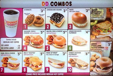 menu dunkin donuts dunkin donuts menu menu for dunkin donuts thornton denver urbanspoon zomato
