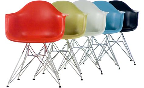 Eames 174 Molded Plastic Armchair With Wire Base Hivemodern Com