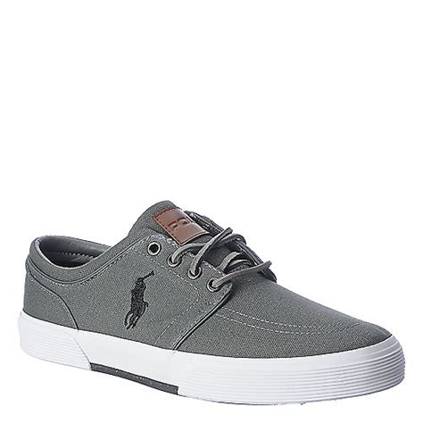 s polo ralph faxon low casual shoes polo ralph mens faxon low grey casual sneaker