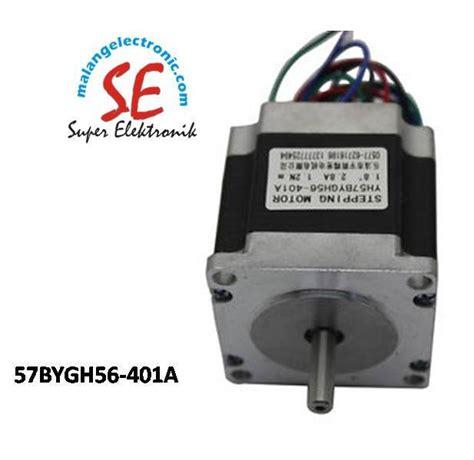 Jual Motor Dc Encoder jual stepper motor dc torsi 12 6kgcm harga motor stepper 57bygh56 401a malang electronic