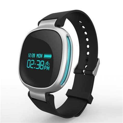 android wristband smart wristband e06 touch screen mi band bracelet for android waterproof tracker fitness