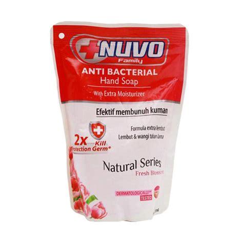 Nuvo Soap Refil 250ml jual nuvo fresh blossom pouch soap 250 ml harga kualitas terjamin blibli