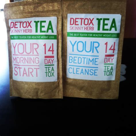 Thin Tea Detox Tea Nederland by Detox Herb Tea 14 Days Morning And Bedtime Fit