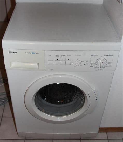 Waschmaschine Und Trockner übereinander Siemens by Waschmaschine Siemens Siwamat Xlm 1260 In M 252 Nchen