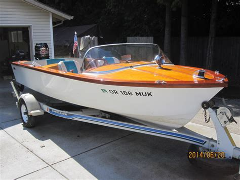 speed boats for sale oregon 1960 carver runabout powerboat for sale in oregon