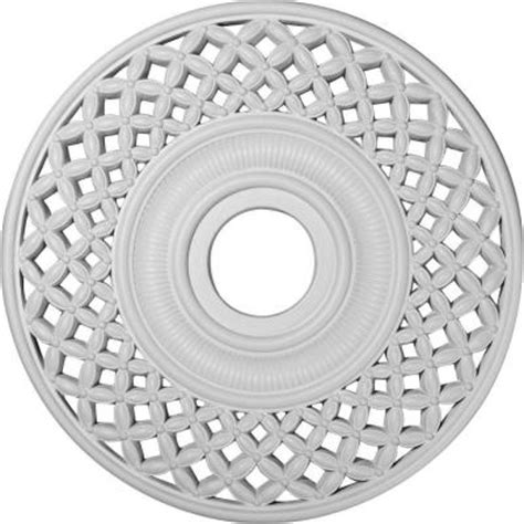 Ceiling Rosettes Home Depot by Ekena Millwork 22 1 4 In Robin Ceiling Medallion Cm22rb