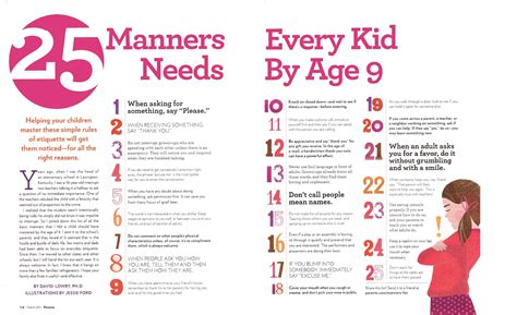 8 Basic Manners To Teach Your Child And How by 365 Days Of Circus 25 Manners Every Kid Needs By Age 9