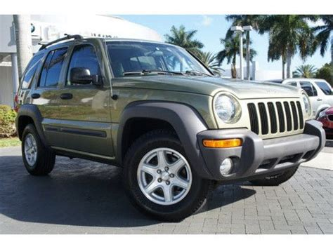 how to sell used cars 2003 jeep liberty parental controls sell used 2003 jeep liberty sport 4x4 all wheel drive 1 owner clean carfax florida car in