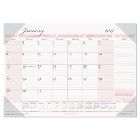 18 month desk calendar recycled breast cancer awareness monthly desk pad calendar