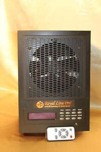 new living alpine fresh air purifier ionizer cleaner ecoquest ozone plates ebay