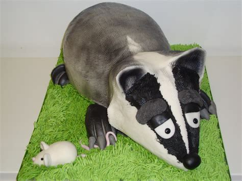 badger cake celebration cakes cakeology