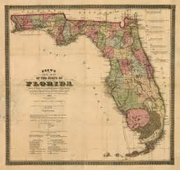 historical map of florida 1874
