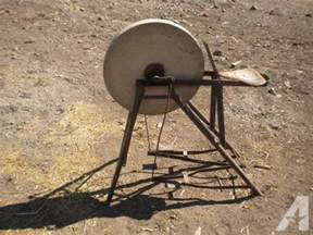 Texas Decor Pedal Grinding Wheel Stone For Sale In Lakeview Oregon
