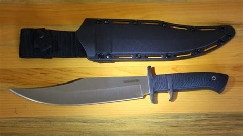 cold steel marauder bowie review cold steel marauder bowie fixed blade 9 in satin plain