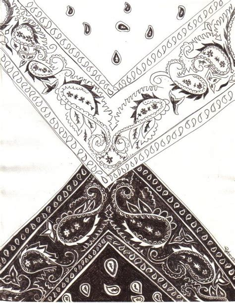 bandana tattoo design bandana design drawing by blackroseryoko s
